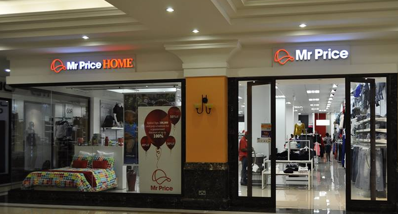 Mr Price Home and Mr Price stores at Acacia Mall.